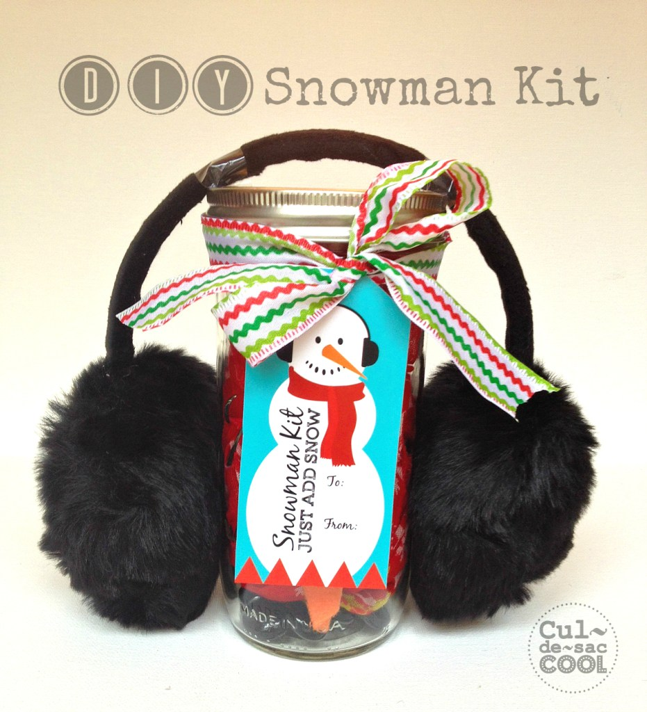 diy snowman kit with free printable tags cover 1.b