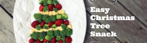 Easy Christmas Tree Snack