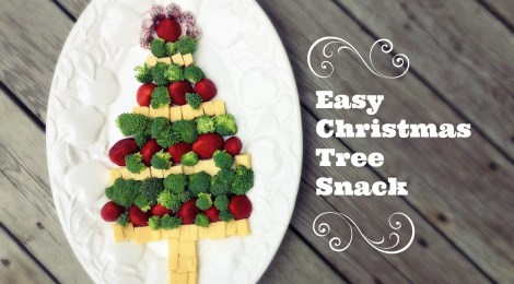 Easy Christmas Tree Snack