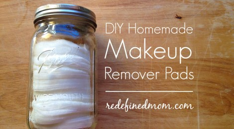 DIY Homemade Makeup Remover Pads