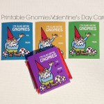 DIY Printable Gnomies Valentine's Day Card