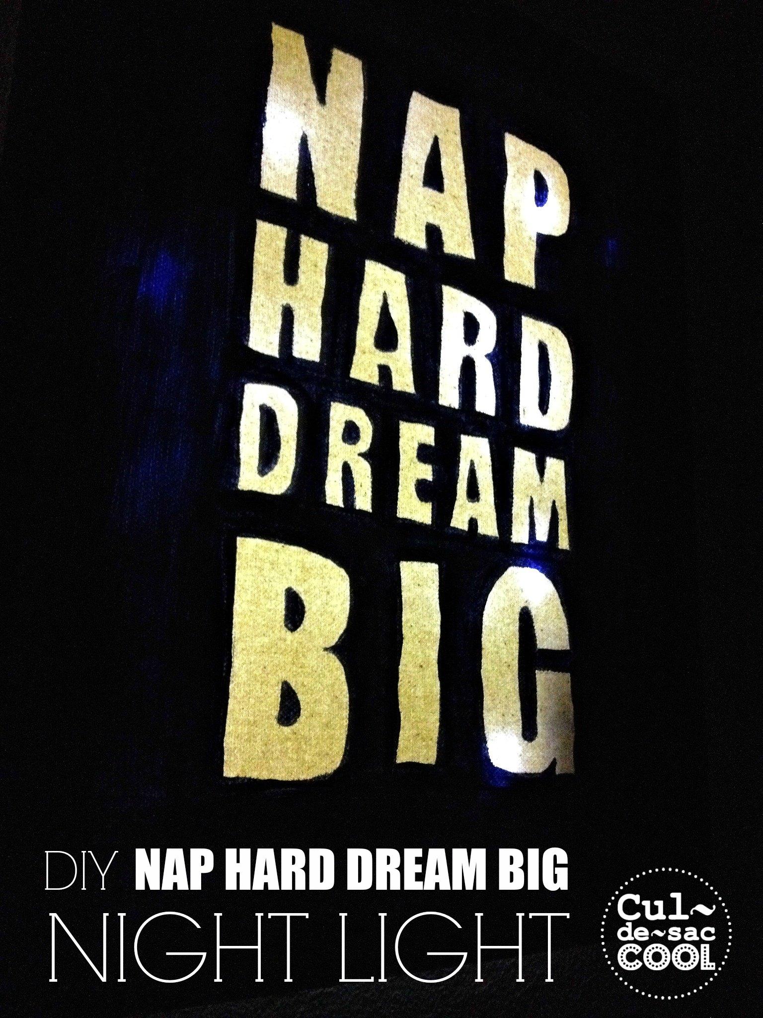 DIY Nap Hard Night Light 1.B