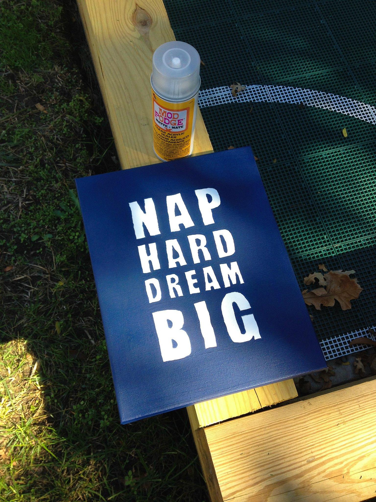DIY Nap Hard Night Light 10