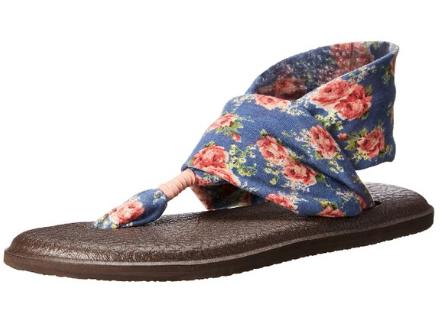 Sanuk Women's Yogo Sling 2 Flip Flop