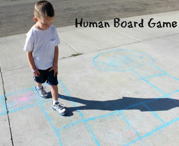 Human Board Game