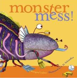 Monster Mess Children's Book