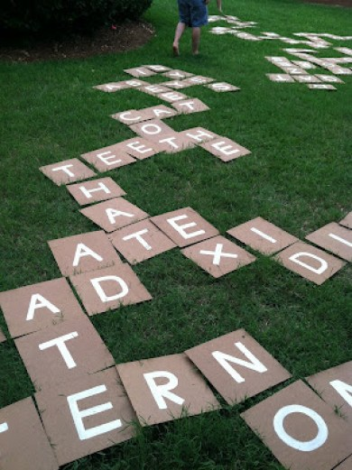 Outdoor Bananagrams
