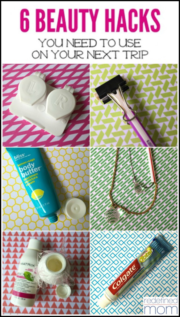 6 BEAUTY HACKS