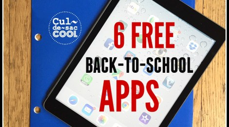 6 Free Back-to-School Apps You Can't Live Without!