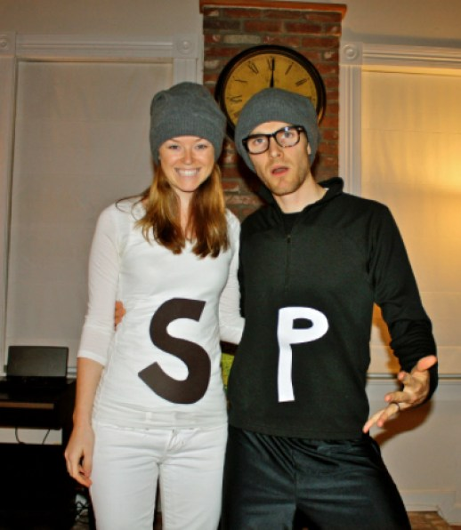 Salt and Pepper Couples Costume