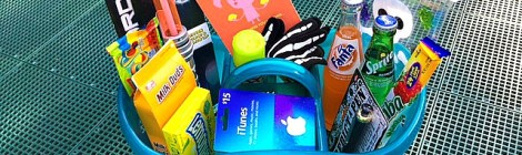 Tub of Fun! College Care Package