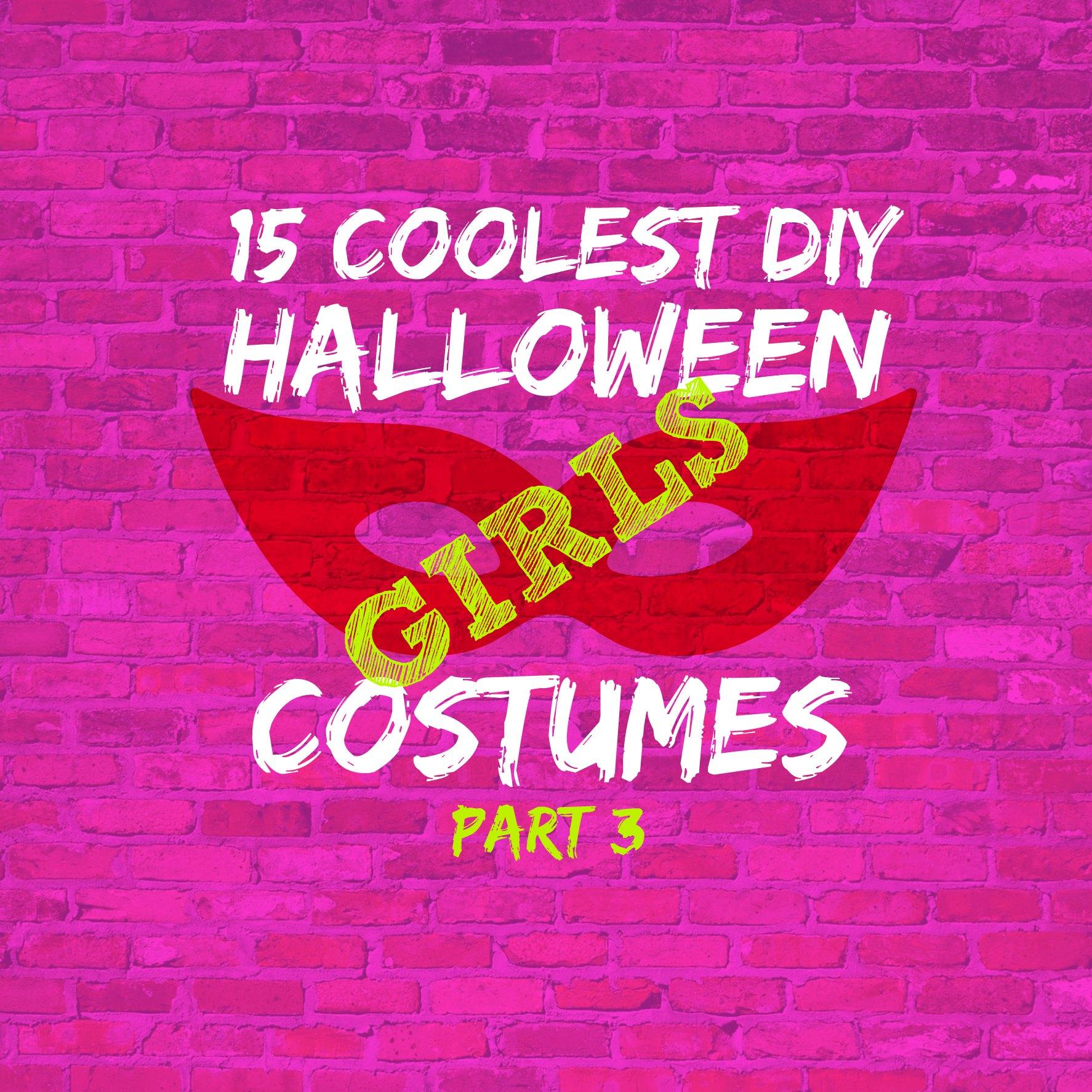 15 Coolest Halloween Girls Costumes Part 3