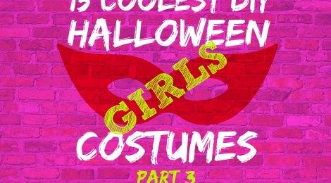 15 COOLEST DIY HALLOWEEN GIRLS COSTUMES — PART 3