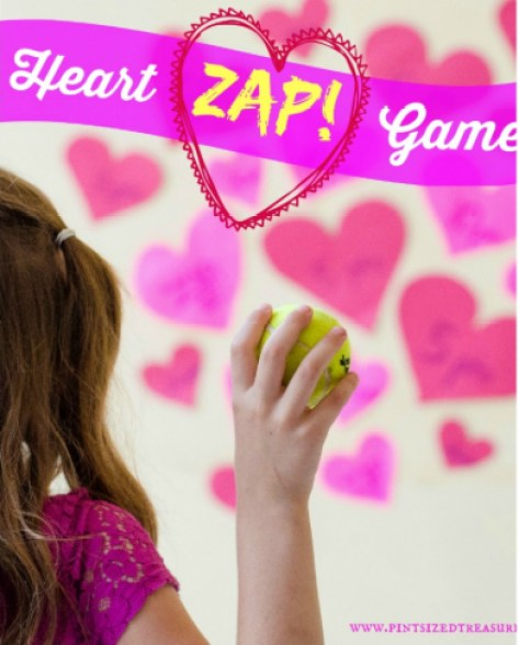 Heart Zap Game