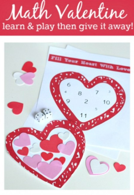 Math Valentine Game