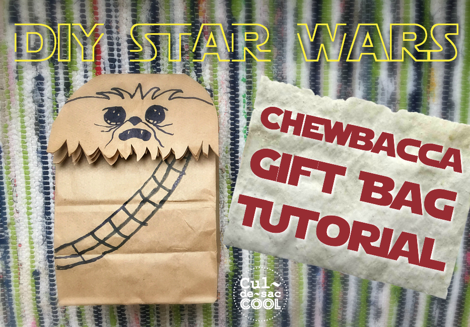 DIY chewbacca gift bag 29 Cover