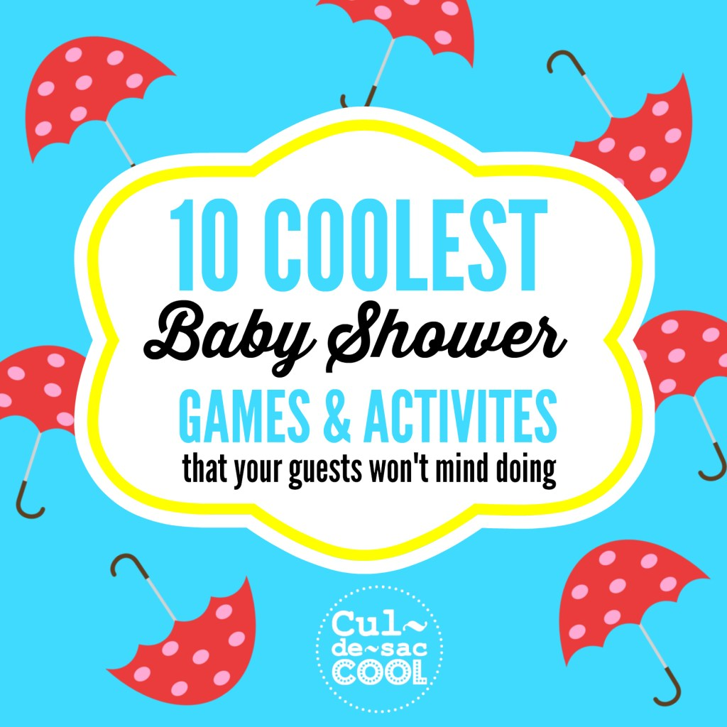 10 Coolest Baby Shower Games and Activities 2