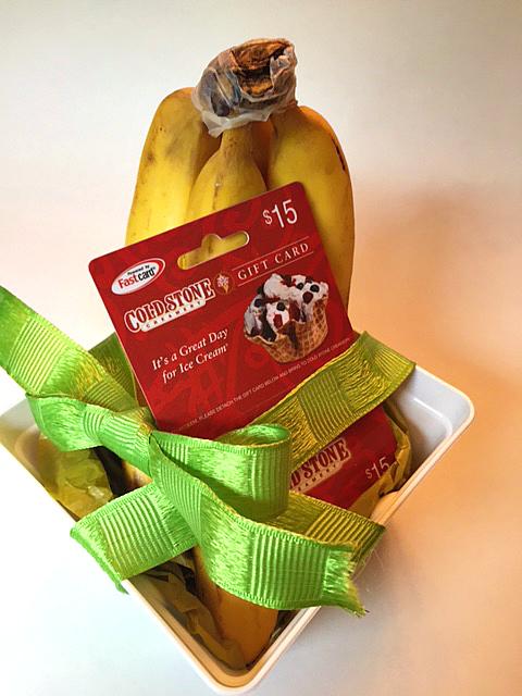 DIY Banana Split Gift 4