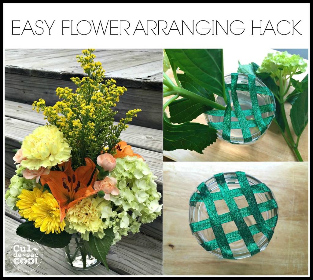 Easy Flower Arranging Hack Cover