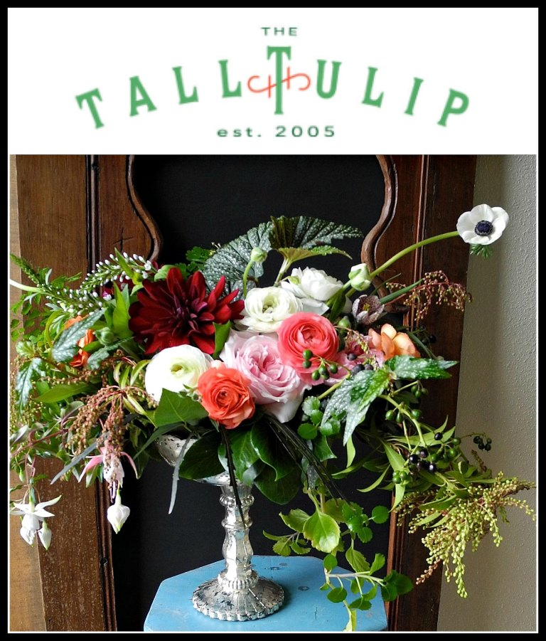 The Tall Tulip Collage