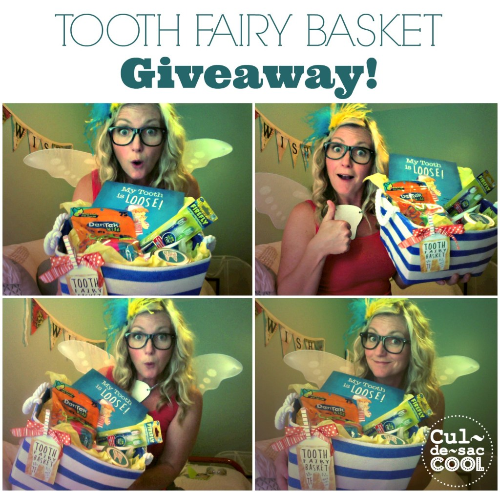 Tooth Fairy Basket Giveaway collage