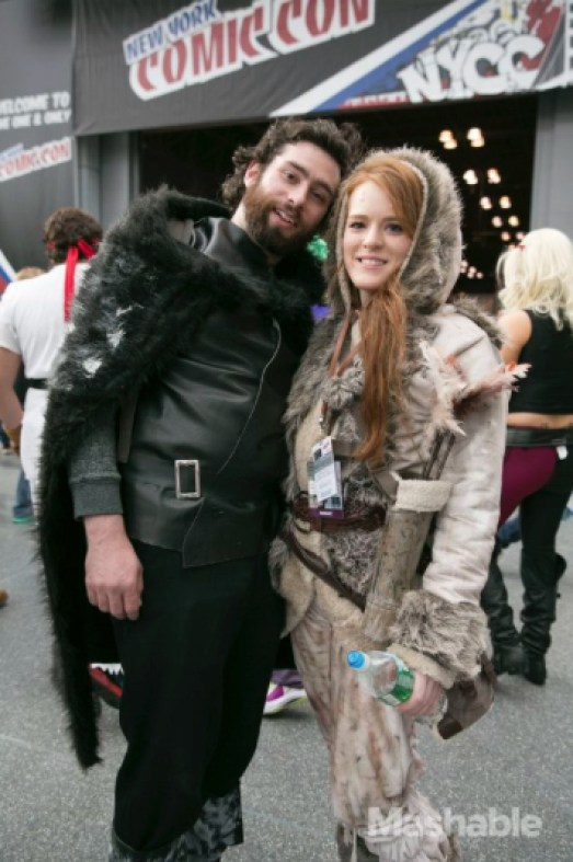 Game of Thrones, Jon Snow and Ygritte