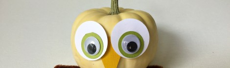 DIY Owl Pumpkin Thanksgiving Craft -- Owldorable!!