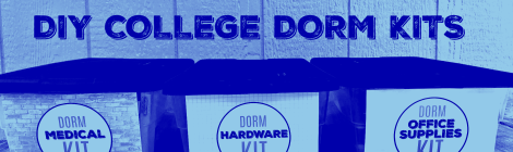 DIY College Dorm Kits