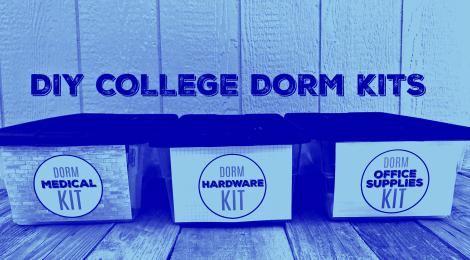 DIY College Dorm Kits