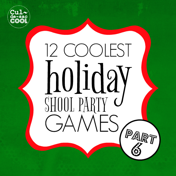 12 coolest holiday school party games part 6