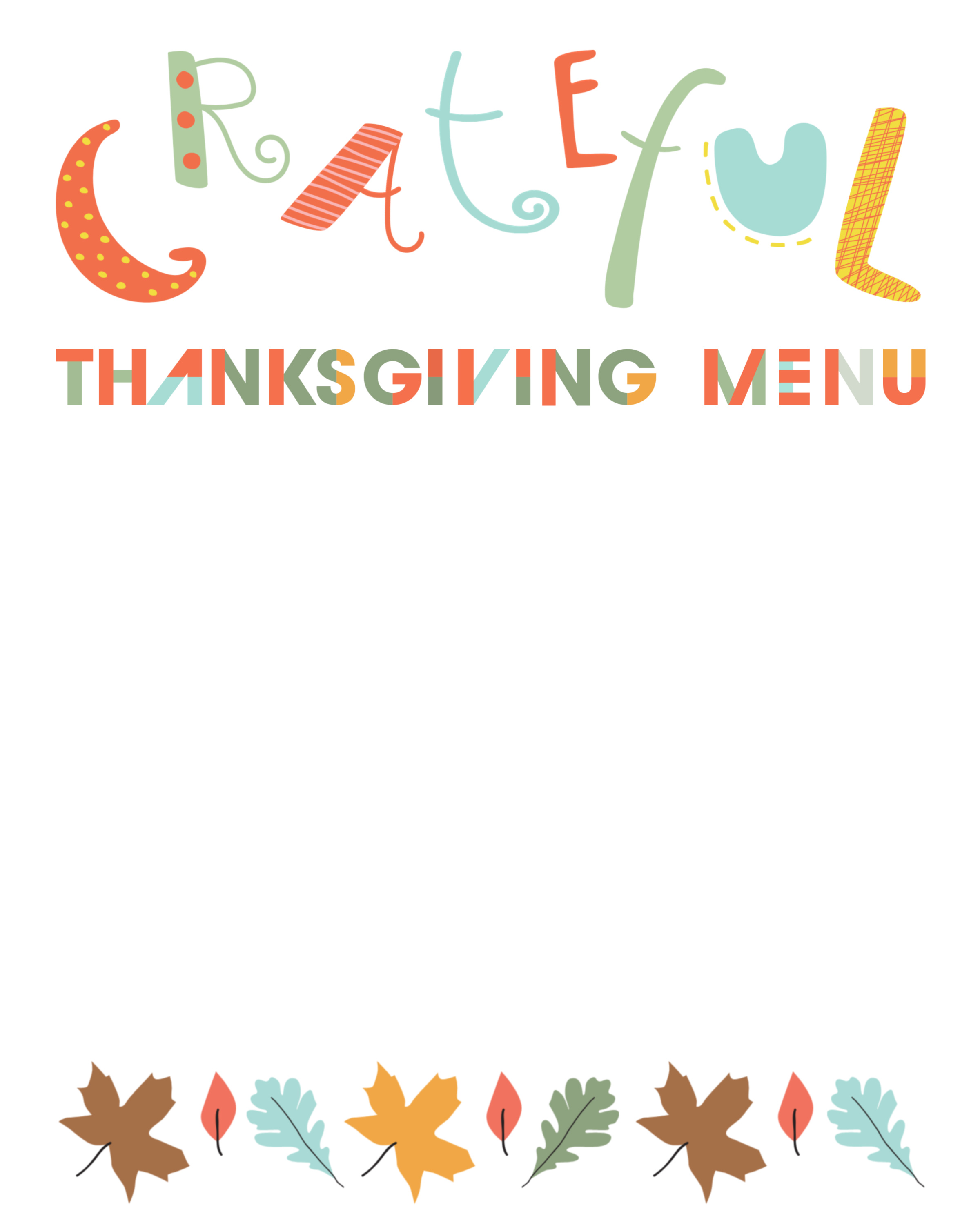 photograph relating to Printable Thanksgiving Menu identified as Do it yourself Printable Thankful Thanksgiving Invite, Menu Stage