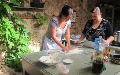 Kretiaanse courgettekoekjes