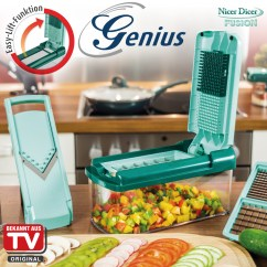 Kitchen Dicer Slicer Home Depot Cabinets In Stock Genius - Blades For Nicer Fusion Set 3 Tlg Cookfunky