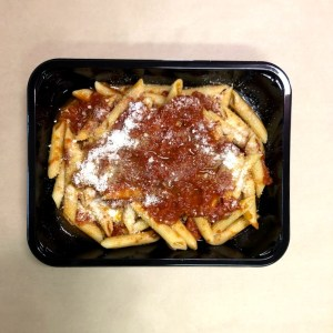 penne with mushrooms sauce