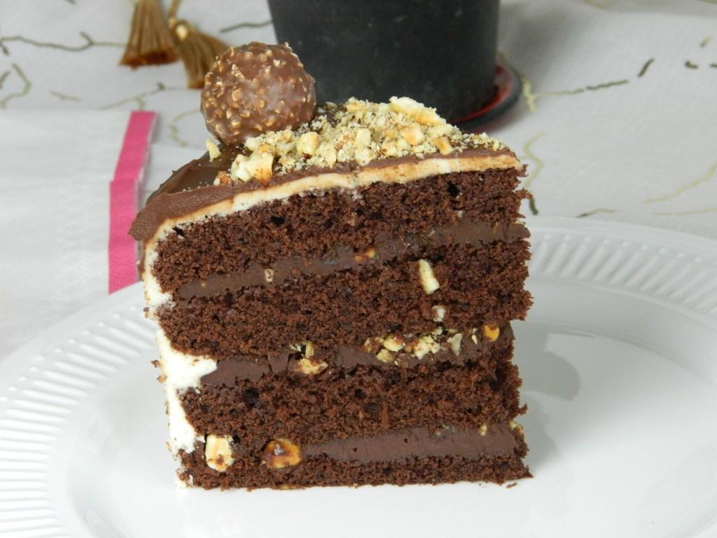 Luxurious Ferrero Rocher Cake