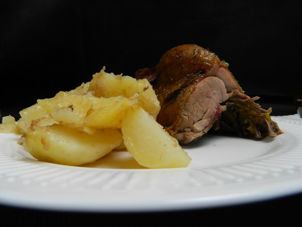 Spiced Up Duck Roast with Oranges