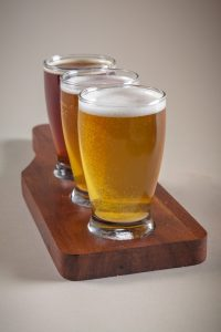 Wooden Beer Flight Holders | Culinary Wood Designs