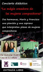 concierto didáctico