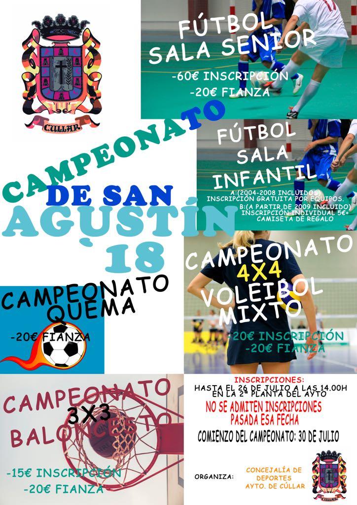 Campeonatos de San Agustín 2018
