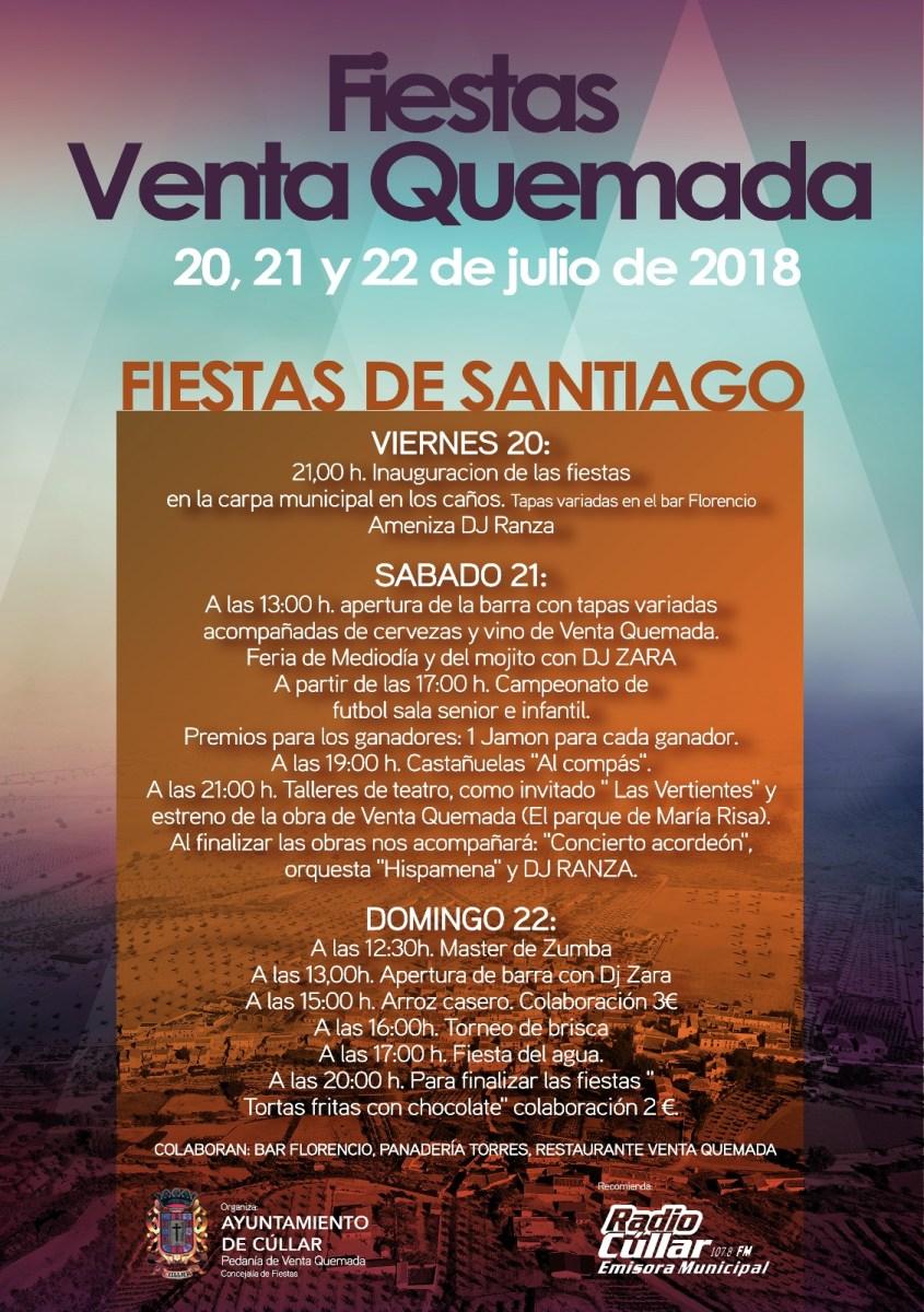Fiestas de Santiago. Venta Quemada.