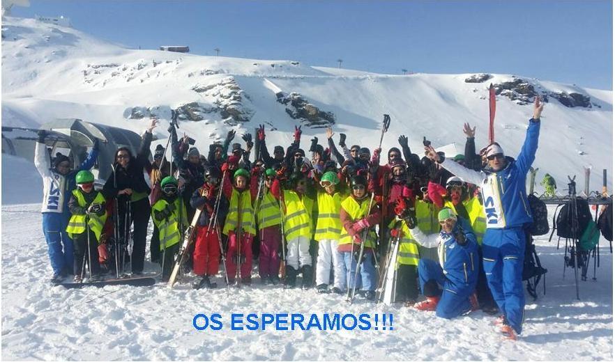 Programa Un día de esquí en Sierra Nevada