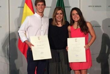 La Nadadora Cullera Elisa Sánchez becada por Andalucía Olímpica