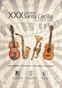 XXX Concierto de Santa Cecilia @ Casa de la Cultura | Cúllar Vega | Andalucía | España