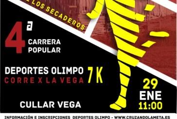 """4ª CARRERA POPULAR """"CORRE X LA VEGA – RUTA DE LOS SECADEROS"""""""