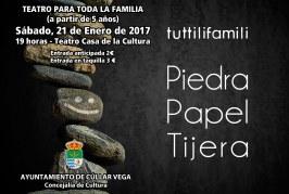 "Teatro Familiar ""Piedra, Papel, Tijera"""