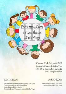 III Encuentro de Coros de Voces Blancas @ Teatro Casa de la Cultura | Cúllar Vega | Andalucía | España
