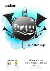 Concierto Del Quinteto Organum Brass @ Teatro Casa de la Cultura | Cúllar Vega | Andalucía | España