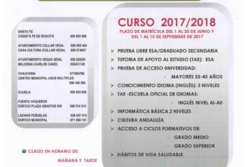 Centro de Educación Permanente. Oferta Educativa 2017/2018