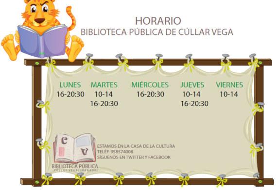 Horario de Biblioteca y de tramitación del Certificado Digital