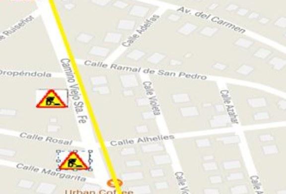 Comienzo Obras Camino Viejo de Santa Fé (El Ventorrillo)